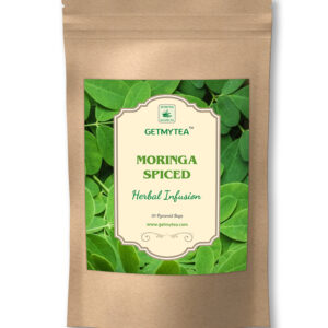 Moringa Spiced Herbal Infusion Pyramid Bags-20 bags x 2g each