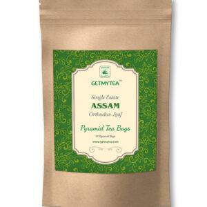 Assam Orthodox Single Estate Pyramid Bags-20 bags x 2g each