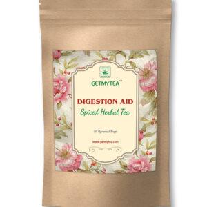 Digestion Aid Spiced Herbal Tea Pyramid Bags-20 bags x 2g each