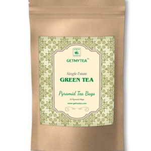 Single Estate Green Tea Pyramid Bags-20 bags x 2g each