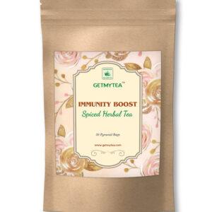 Immunity Boost Spiced Herbal Tea Pyramid Bags-20 bags x 2g each