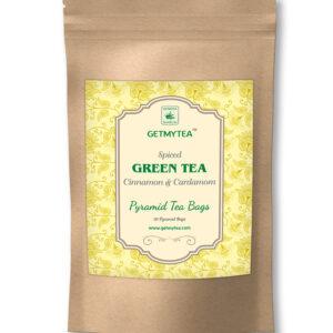 Spiced Green Tea Pyramid Bags