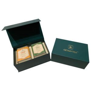 Getmytea Turmeric & Moringa Spiced Wellness Blend Set