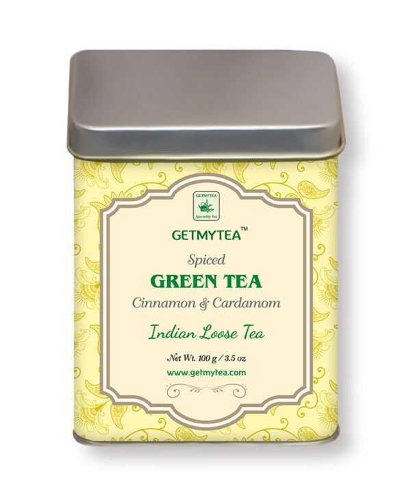 spiced green tea